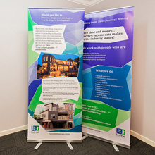 Lateral Building Design - Pull up banners
