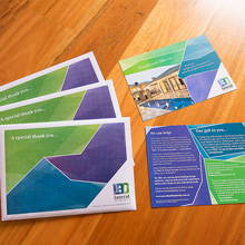 Lateral Building Design - Envelopes and promo cards
